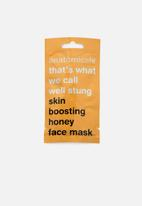 anatomicals - That's what we call well stung face mask