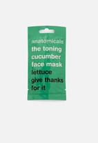 anatomicals - Lettuce give thanks for it face mask