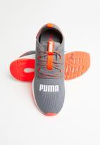 PUMA - Hybrid NX - castlerock-energy red