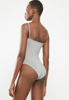 Superbalist - Single cami bodysuit - grey