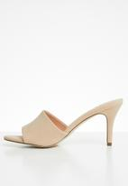 Call It Spring - Faux leather mule - neutral