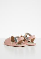 POP CANDY - Velcro strap sandal - pink