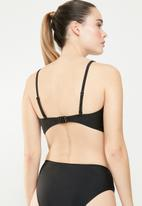 Brave Soul - Erin bikini top - black