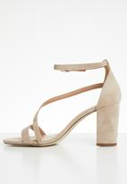 Call It Spring - Azaria ankle strap block heel - neutral