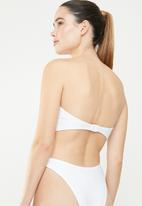 Brave Soul - Summer bikini top - white