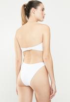 Brave Soul - Summer bikini bottom - white