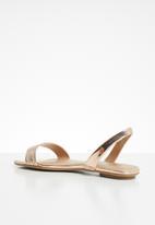 Call It Spring - Metallic slingback sandal - rose gold