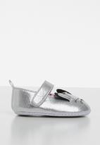 POP CANDY - Kitty metallic pump - silver