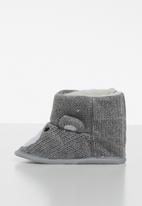 POP CANDY - Bear boots - grey
