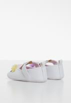 POP CANDY - Pump with flowers - white