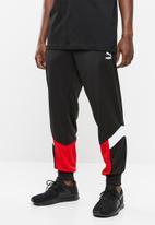 PUMA - Conic mcs track pant cuff - black & red