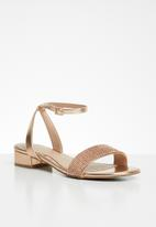 Call It Spring - Sadra sandal - rose gold