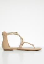 Call It Spring - Jelles braided sandal - neutral