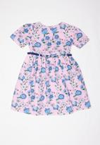 POP CANDY - Floral printed dress - purple