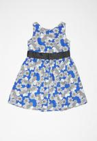 POP CANDY - Floral printed dress - blue
