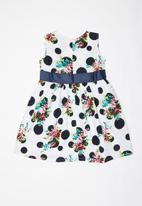 POP CANDY - Printed dress - white