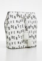 Steve Madden - Bcapri-b backpack - white & black