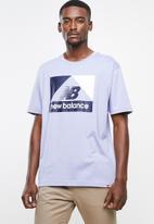 New Balance  - Archive nb tee - purple