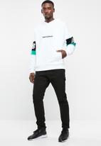 New Balance  - Archive hoodie - white