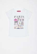 POP CANDY - Girls T-shirt s - white