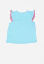 POP CANDY - Infant T-shirt t - blue