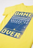 POP CANDY - Pre boys T-shirt - yellow
