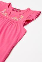 POP CANDY - Infant sleeveless t-shirt - fuschia