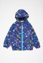 POP CANDY - Boys printed jacket - blue