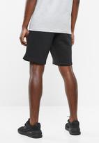 New Balance  - Core fleece short - black