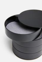 Yamazaki - Tower accessory tray - black