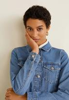 MANGO - Vicky denim jacket - blue