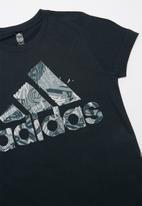 adidas Performance - Boys mh bos graphic 1 tee - navy