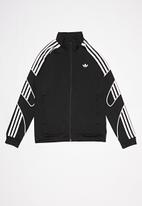 adidas Originals - Flamestrk tracksuit top - black & white