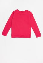 GUESS - Long sleeve icon active top - pink