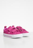 Converse - Kids One Star 2v ox sneaker - active fuchsia
