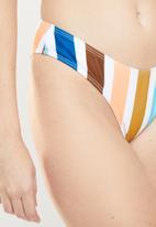 MSH - Sunset stripe bikini bottom - multi