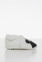 POP CANDY - Sheep slipper - black & white