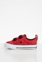 Converse - One Star 2v ox - enamel red/black/white