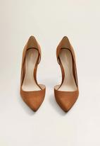 MANGO - Audrey stiletto heel - brown