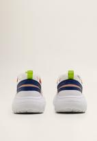 MANGO - Adri panel chunky sneaker - multi