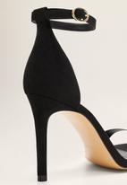 MANGO - Salva stiletto heel - black