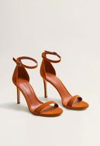 MANGO - Salva stiletto heel - brown