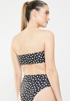 MSH - Flirt bikini top - black & white