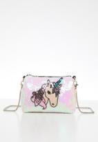 POP CANDY - Sling bag with unicorn applique - multi