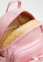 POP CANDY - Backpack with bow - pink