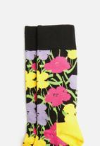 Happy Socks - Andy Warhol flower socks - multi