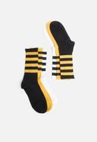 Superbalist - 3-pack bee socks - multi
