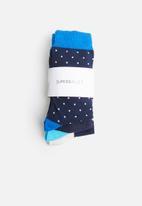 Superbalist - 3-pack patterned socks - multi