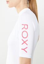Roxy - Whole hearted rashvest - white