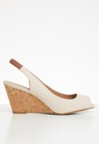 Call It Spring - Aristata slingback wedge heel - neutral